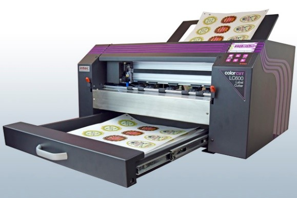 Intec ColorCut LC600 Automated Sheet Label Cutter 1