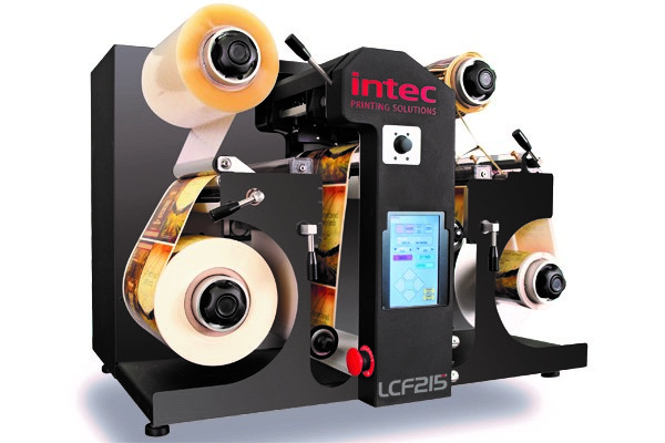 Intec ColorCut LCF215 Automated Roll Label Cutter