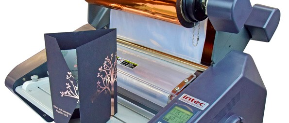 Intec ColorFlare CF350 Foiling Lamination Holographics System