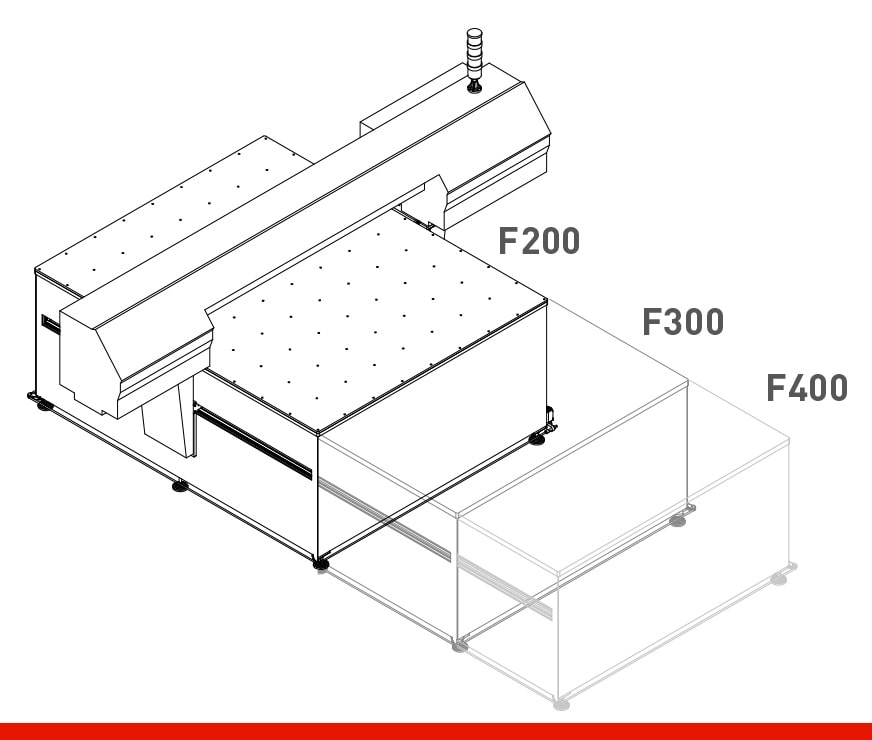 SmartColot Flatbed Sizes