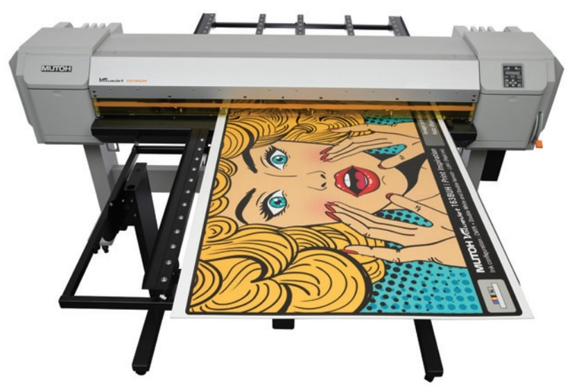 Mutoh ValueJet 1638UH Top