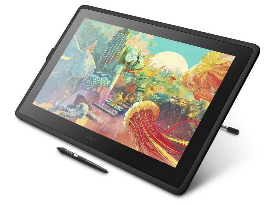 Wacom Cintiq 22 Elevated Angle View