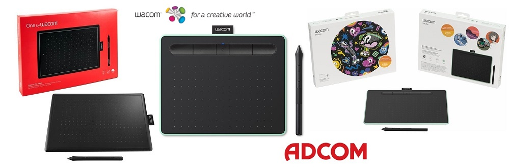 Adcom Wacom tablets promo summer 2018