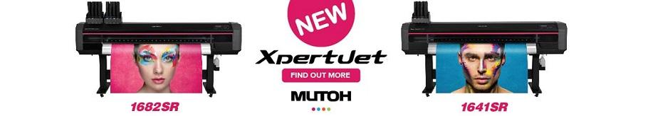 Сменете старият широкоформатен принтер с екосолвентен Mutoh XpertJet с ширина 1,6 м